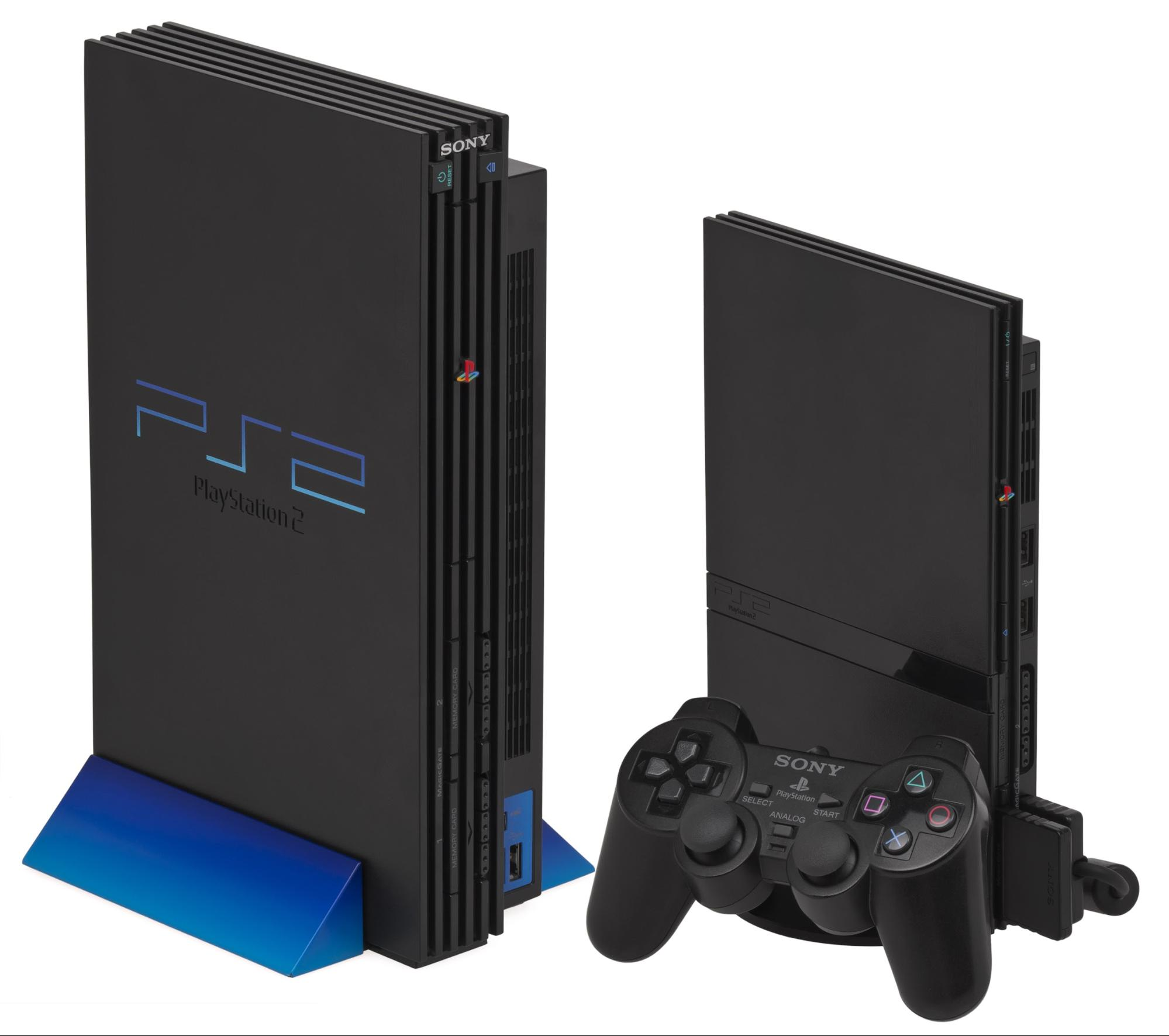 Playstation2 i slim og original